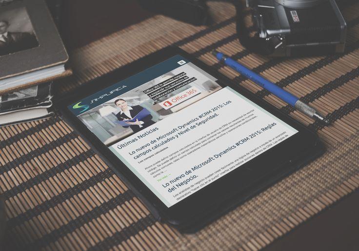 Diseño Pagina Web Simplifica Solutions implementada en Wordpress