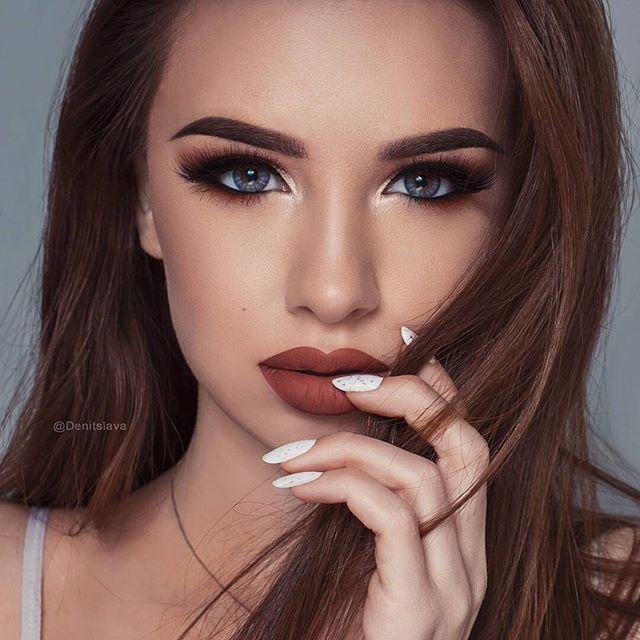 Instagram @denitslava. Makeup artistry