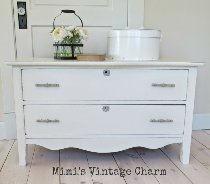 Mimi S Vintage Charm Old White Ascp Dresser The
