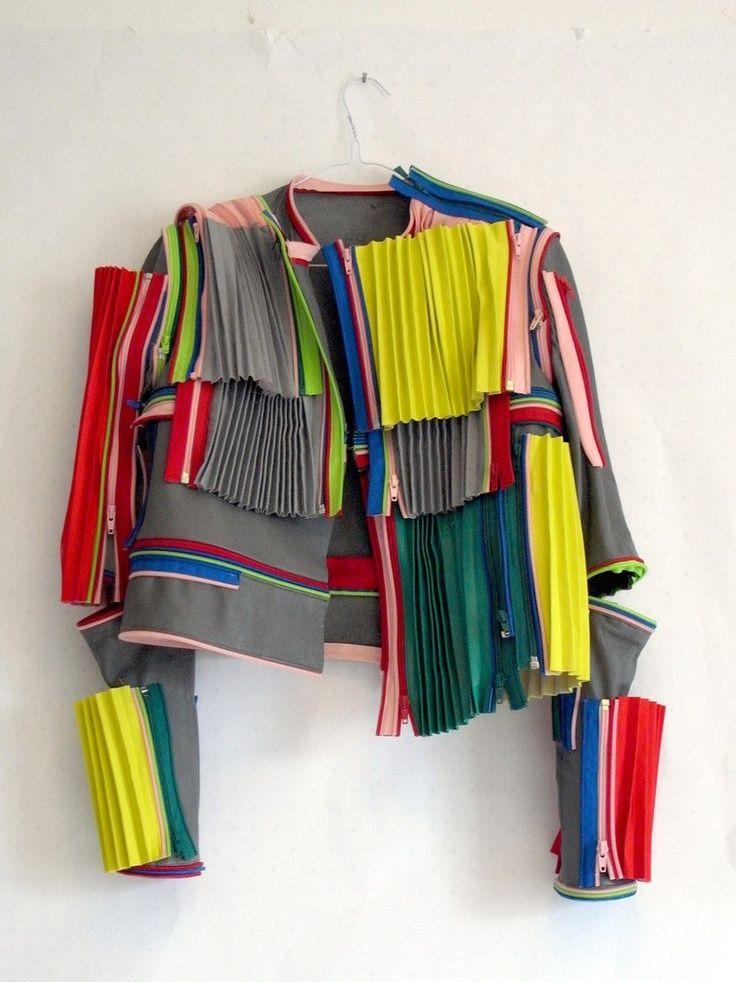 patchwork plissé