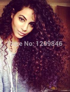 Best Quality 7A Brazilian Virgin Hair Bundles Kinky Curly, Beautiful Deep Curly Human Hair Weaves 4Pcs Lot Free No Shedding no Tangling