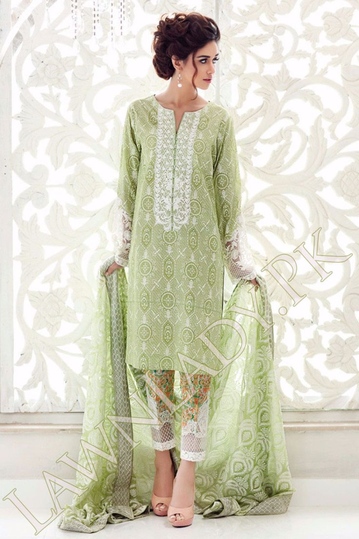 Bareeze live dresses gallery bareeze fashion brand photos designs - Buy Gul Ahmed Replica Lawn 2016 4pcs Embroidered Lawn Suit Chiffon Dupatta Printed