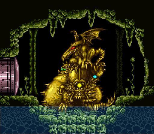 Golden Statues - Super Metroid (SNES)