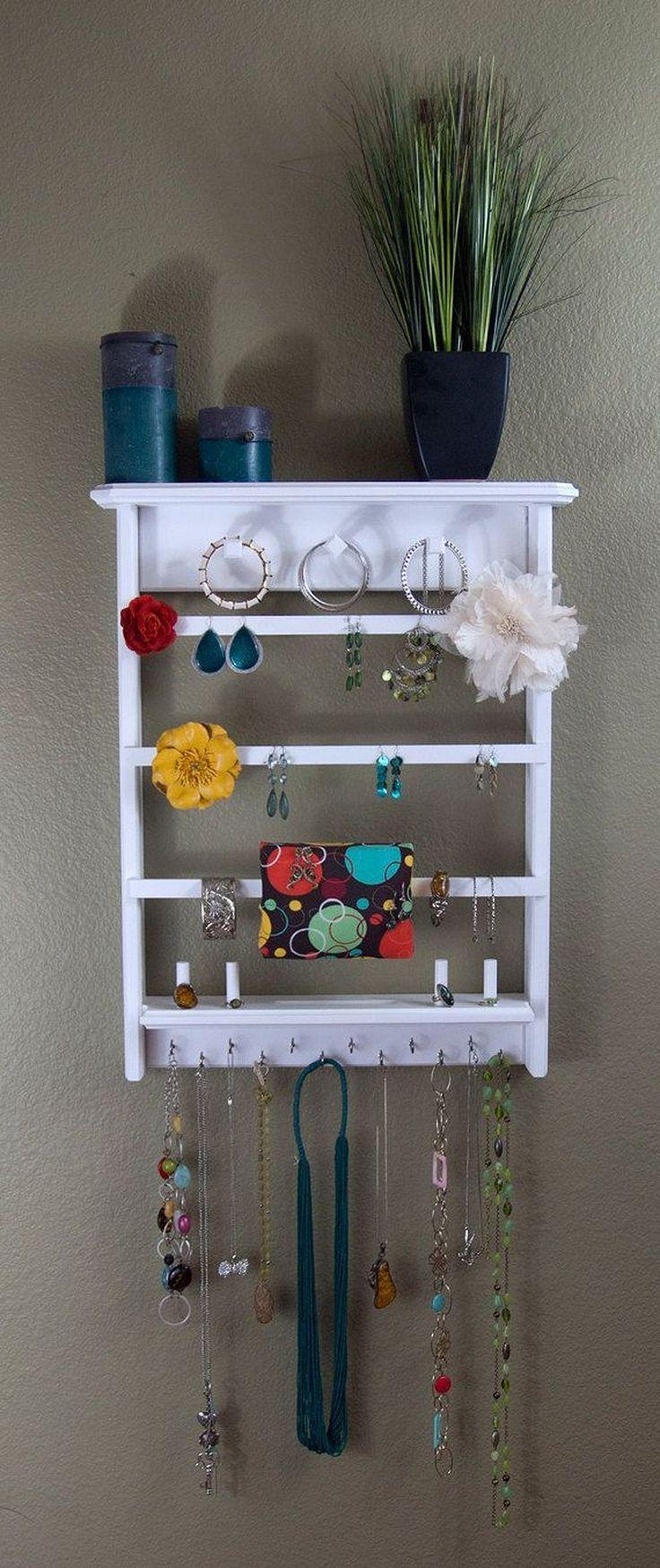 Great 50 Fancy Design Jewelry Organizer Wall