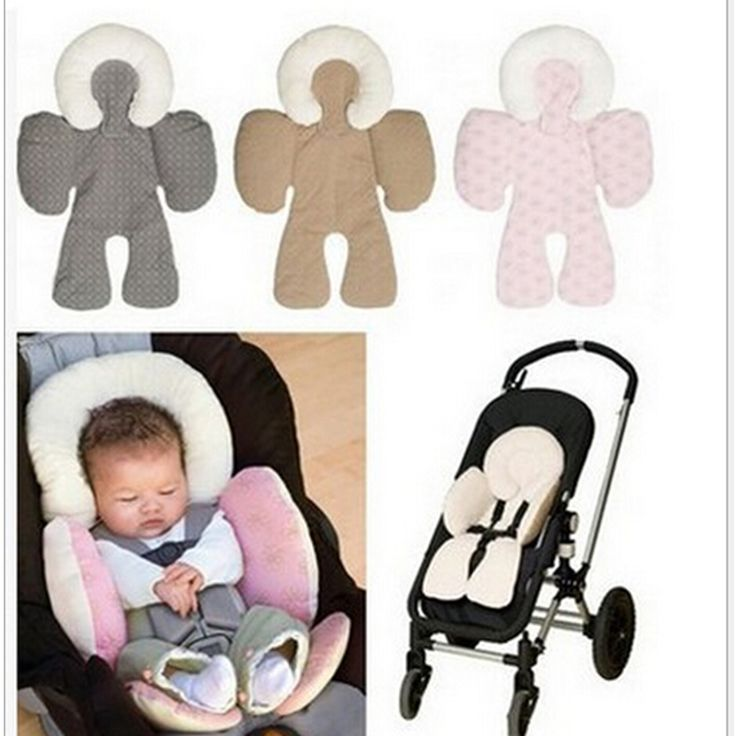 Baby Head and Body Support Pillow 2016New Warm Strollers Nursing Pillow Winter Car Seat Cushion Cute Baby Stroller Accessories