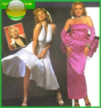 8 best things to sew images on Pinterest Sewing patterns, Sewing - marilyn monroe halloween costume ideas