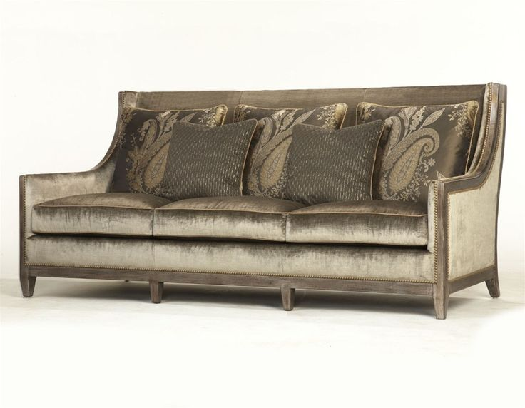 Art nouveau sofa sleek modern design have a seat Sleek sofa set designs
