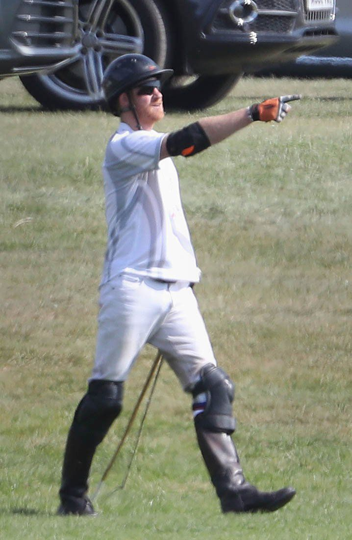 prince harry meghan markle | Prince Harry and Meghan Markle attend polo match together ...