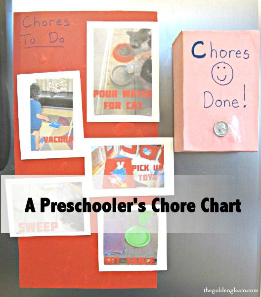 A Preschooler's Chore Chart: Pictures Ideas, Charts Gotta, Charts Repin, Kids Chore Charts, For Kids, Brilliant Ideas, Charts Cans T, Charts Guest, 5 Years Old Chore Charts