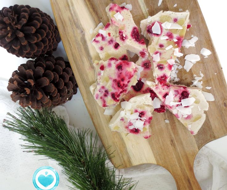 Coconut peppermint bark recipe now on Made Whole Blog! www.madewholeco.com