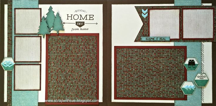 layout by Sue Nielsen using CTMH Jackson paper | CTMH Jackson ...