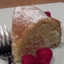 Lush, fluffy, yellow cake from scratch. Uses leftover egg yolks (12 or 1 cup). Bakes up perfect in bundt pan for 35 minutes.