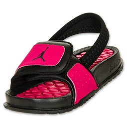 Baby Giirl Jordan Flip Flops ((: Love