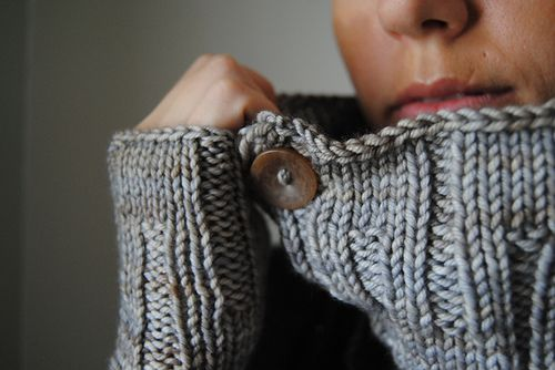 T R I V I U M - Cowl, hat and fingerless gloves design by Lisa Mutch -   A set of three; cowl, hat and fingerless gloves. A simple, reversible stitch pattern gives so many options, add buttons to your favourite side, or both. http://www.ravelry.com/patterns/library/trivium