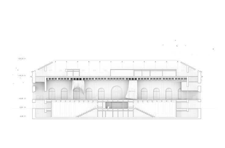 Abschlussarbeit: Der weiße Vorhang, Nelli Maier/ Technische Universität München - Campus Masters | BauNetz.de