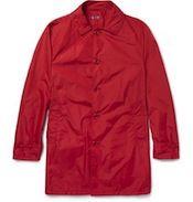 Aspesi men's raincoat in the Mr Porter sale