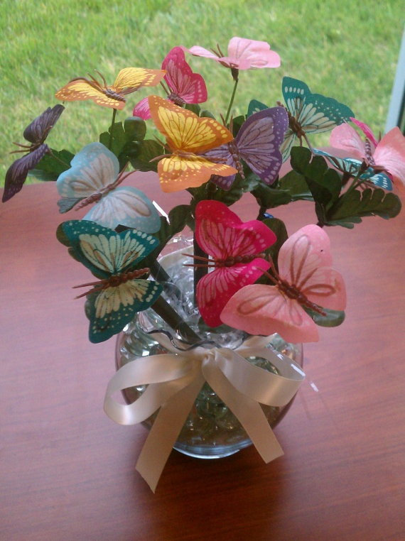 17 Best Ideas About Butterfly Centerpieces On Pinterest Butterfly Party Decorations Butterfly
