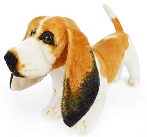 Viahart Bourguignon The Basset Hound 19 Inch Large Dog Stuffed