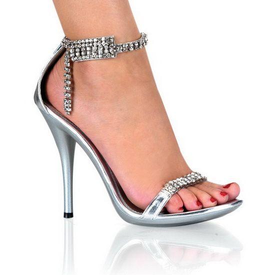 Miss Femmes Sasa Plateau Décolletée Scintillantes Pompes En Cuir Verni Avec Stiletto Élégant Talon Haut Rond Haut Parti / Chaussures Habillées (34, Noir)