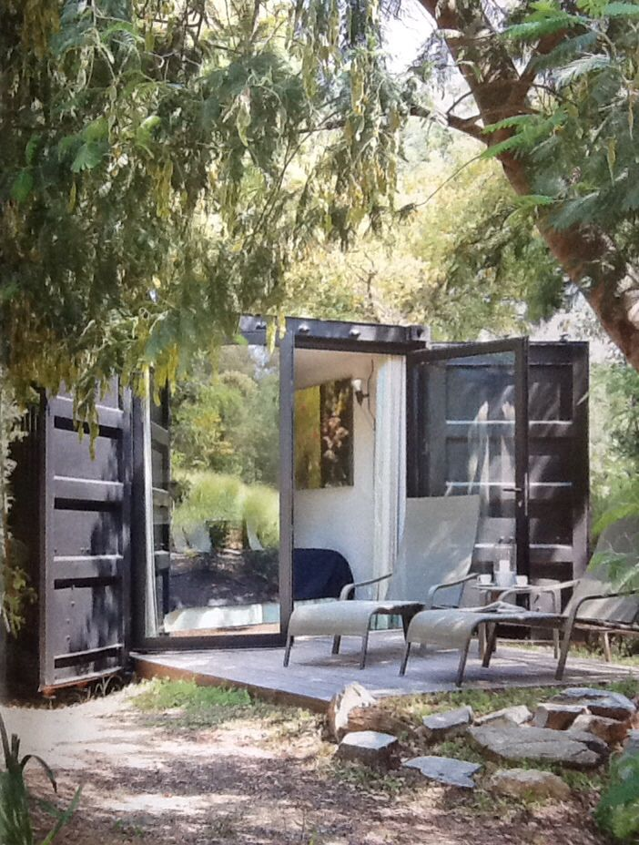 Container guest room