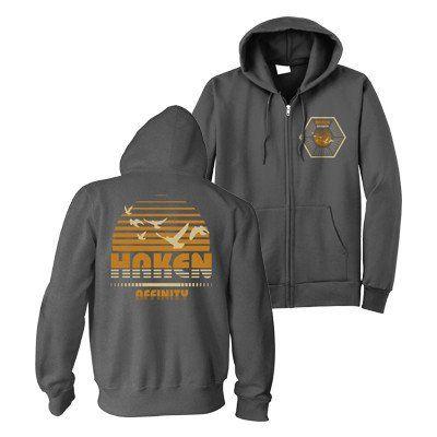 Printed on high qualityTultex brand zip-up sweatshirts.