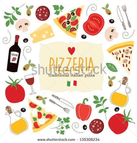 pizza illustration - Google Search