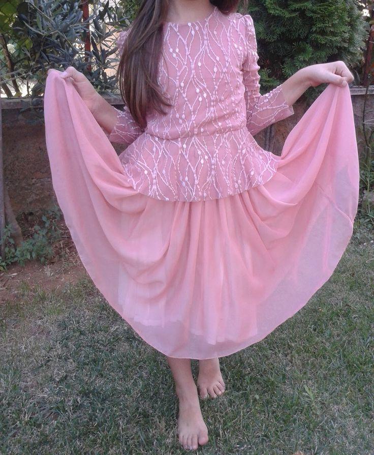 Abito-rosa-cipria-bambina-cerimonia