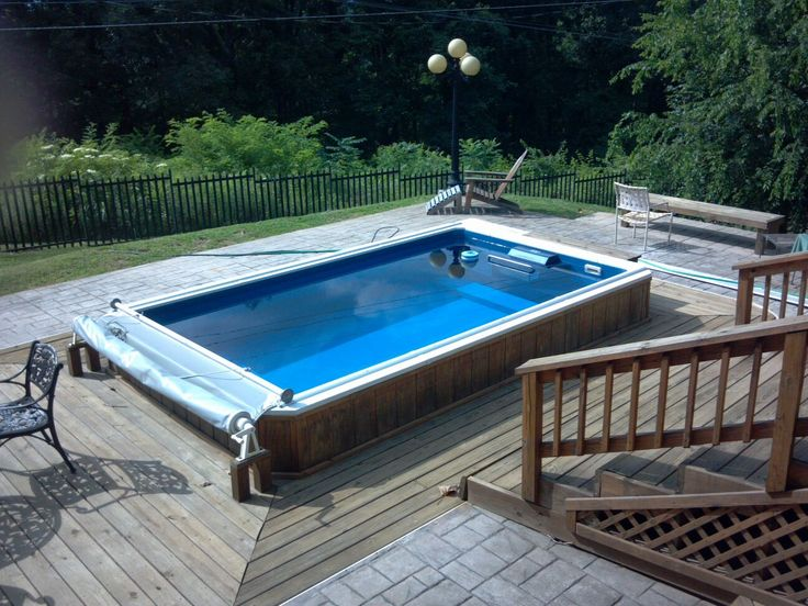 9 Best Garden Swimming Pools Images On Pinterest | Endless Pools