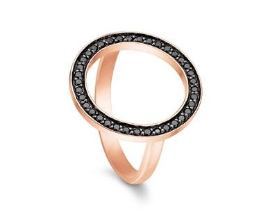 STORY Saturn ring - rosa gilded