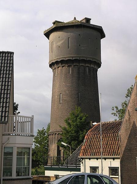 Sliedrecht-watertoren bj 1886