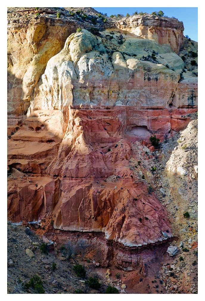 Seriously stunning! Near Ghost Ranch, New Mexico (photo credit Ed Farrell) Visit Santa Fe, The City Different, Charming 2 bedroom adobe in town - walking distance to the plaza.  #VacationRental in Santa Fe, New Mexico. Available October, November, December 2016. Great winter rates https://www.airbnb.com/rooms/2562597