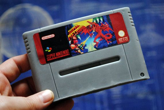 N64 Super Metroid Cart Soap  Retro and geeky Handmade by NerdySoap