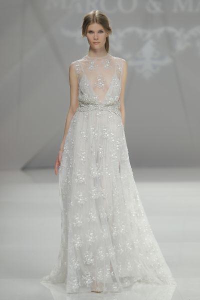 Vestidos de novia corte imperio 2017: ¡Para todo tipo de mujeres! Image: 17