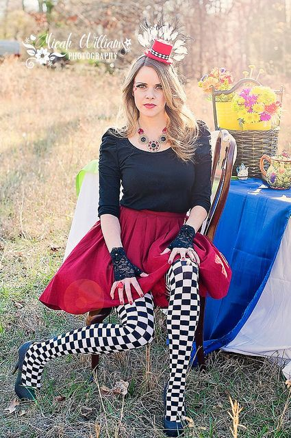 Alice in Wonderland Shoot - Red Queen - so much fun!