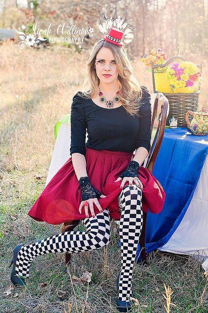 Alice in Wonderland Shoot - Red Queen - so much fun!