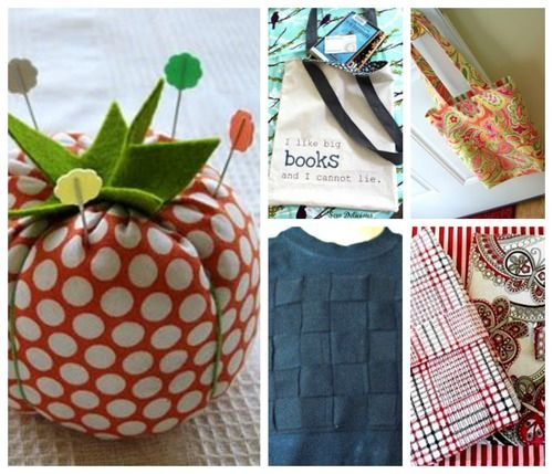 Simple Sewing Projects: 16 Easy Sewing Projects for Beginners | AllFreeSewing.com