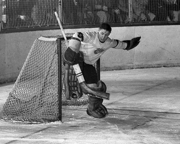 Terry Sawchuk - early 50's