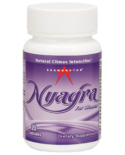 Nyagra Female Climax Intensifier - 1 Capsule Bottle Of 20