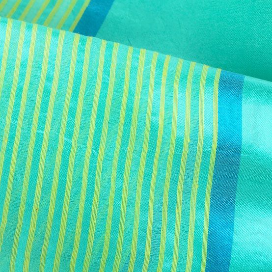 silk scarf handwoven india narcissus_sea blue