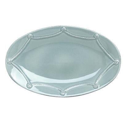 JULISKA Berry & Thread Medium Oval Platter (Ice Blue)