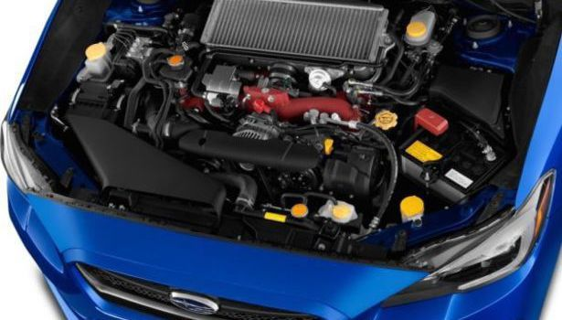 2017 Subaru WRX - engine