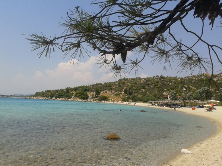 Koviou beach, Sithonia , Chalkidiki , Greece