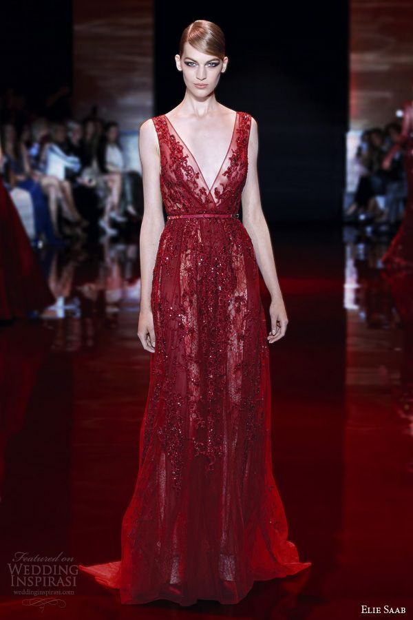 elie saab fallwinter 20132014 couture collection gowns