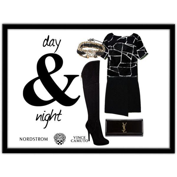 """""""day night"""" by esrakazimoglu on Polyvore"""