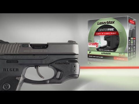 VIDEO EXCLUSIVE: A Laser Sighting System With Dual Activation | By Shari LeGate | LaserMax's Centerfire with GripSense technology is the newest generation in laser activation. | © GUNS Magazine 2018