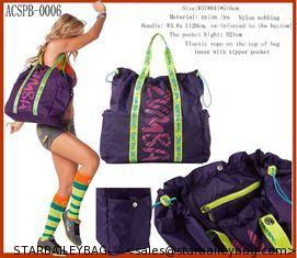 Китай Zumba фитнес большая сумка-спортивная сумка-йога сумки-модное мешок хорошим поставщиком качества багажа