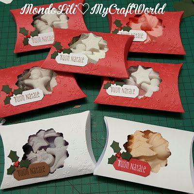 MondoLili: Scatoline natalizie con gessetti profumati