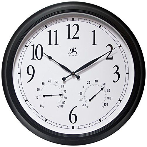 Infinity Instruments The Definitive Radio Controlled Wall Clock * For More  Information, Visit Image Link