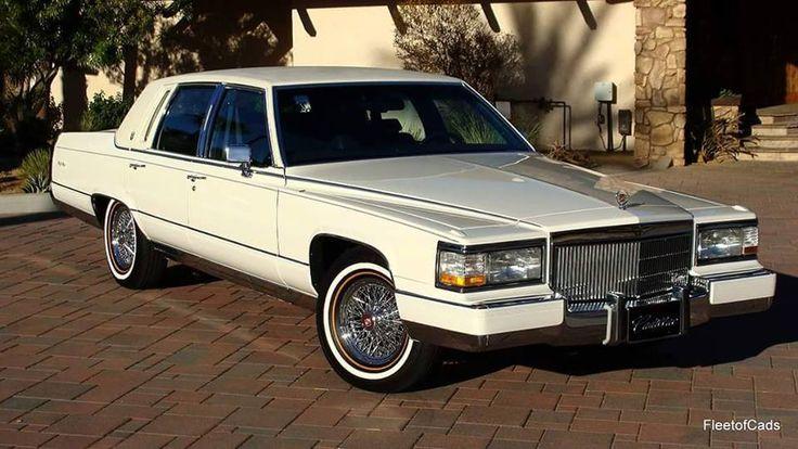 CADILLAC DE BROUGHAM D'ELEGANCE V 8 1992 | 1990 to 1999 CARZ | American classic cars, Antique ...