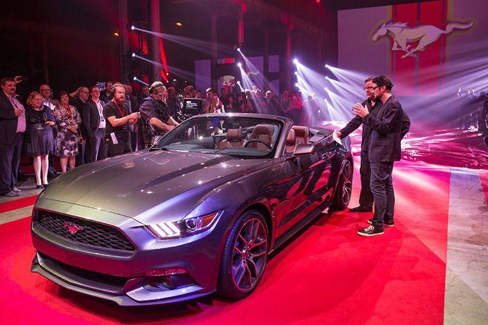 Mustang Cabrio 2015